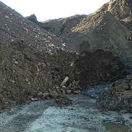 Erden aus stillgelegten Industriegebieten